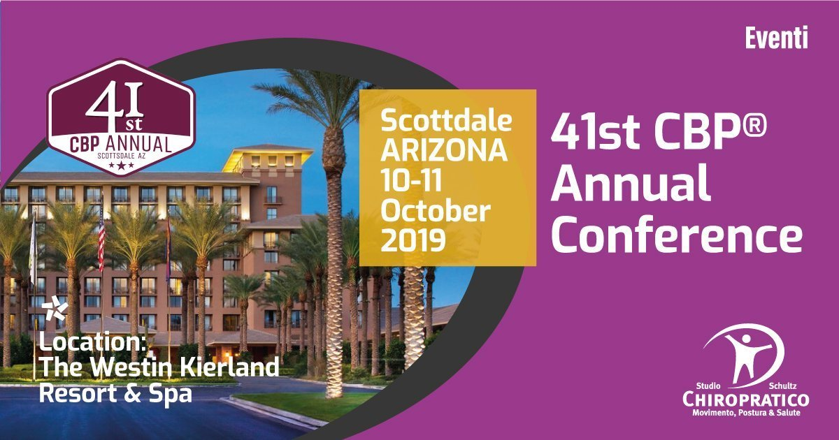 CBP 41st annual conference